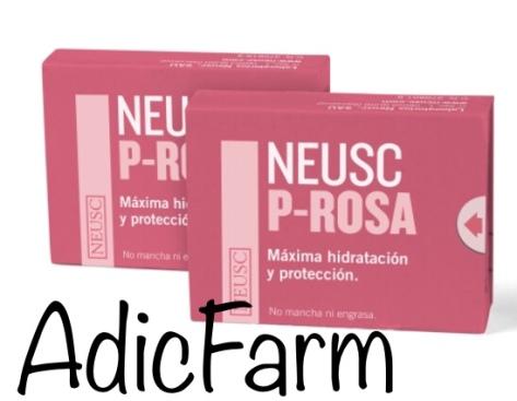 pastilla Neusc es un ungüento en forma de jaboncillo de las manos 🤚 de color rosa y suavecito