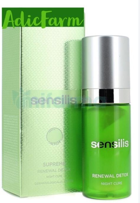 serum sensilis, cura de noche.